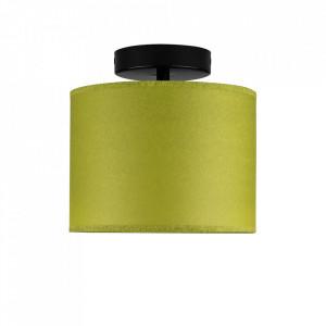 Plafoniera verde fistic/neagra din hartie si otel Taiko Sotto Luce
