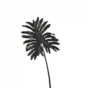Planta artificiala neagra din fier si plastic 110 cm Selloum Pols Potten