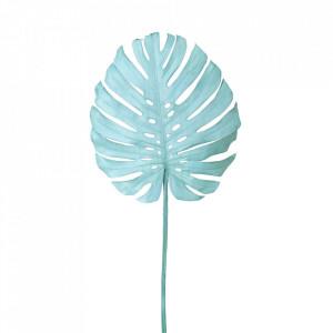 Planta artificiala turcoaz din fier si plastic 128 cm Monstera Pols Potten