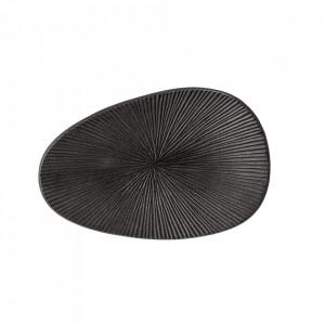 Platou negru din aluminiu 13x20 cm Ellie Bloomingville