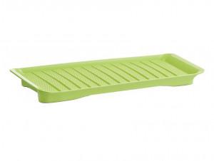 Platou verde din plastic 22,3x43,5 cm Britney Zeller