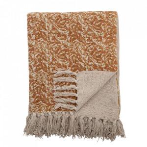 Pled maro din textil 130x160 cm Cianna Bloomingville