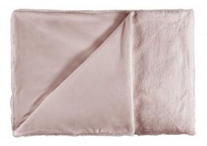 Pled roz din poliester 150x200 cm Heaven Lalee