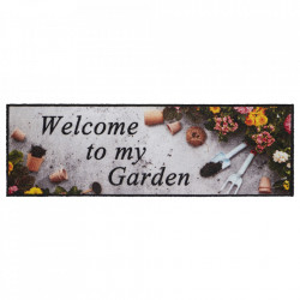 Pres multicolor din poliamide pentru intrare 50x150 cm Colorful Garden Hanse Home