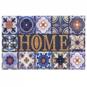 Pres multicolor dreptunghiular pentru intrare din polipropilena 45x70 cm Miami The Home