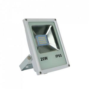 Proiector alb din metal LED Riwe M Milagro Lighting