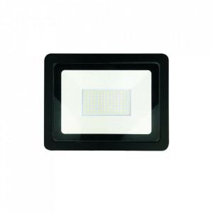 Proiector negru din metal LED Serio M Milagro Lighting