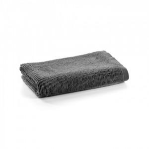 Prosop gri inchis din bumbac 70x140 cm Miekki La Forma