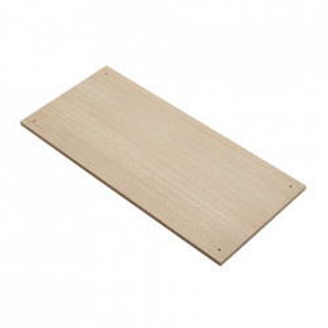 Raft maro din lemn de stejar Elevate C Woud