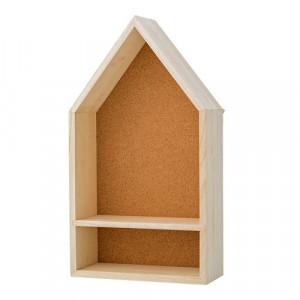 Raft maro din lemn si pluta 45 cm House Bloomingville
