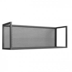 Raft negru din metal 70 cm Motif LABEL51