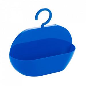 Raft pentru baie albastru din plastic 26 cm Caddy Cocktail Wenko
