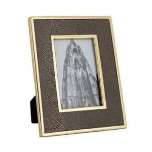 Rama foto aurie din inox si poliuretan 21x26 cm Parley Richmond Interiors