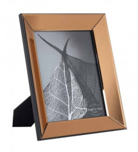 Rama foto maro bronz din sticla si MDF 27,5x32,5 cm Vinny Richmond Interiors