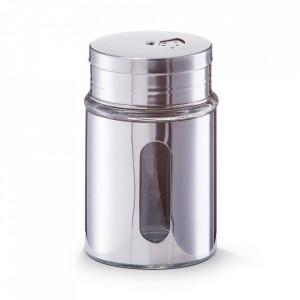 Recipient argintiu din sticla pentru condimente 220 ml Pulse Zeller