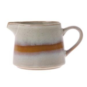 Recipient ceramic pentru lapte 70's Snow HK Living