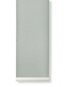 Rola tapet 53x1000 cm Confetti verde menta Ferm Living
