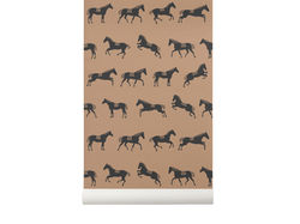 Rola tapet 53x1000 cm Horse Ferm Living