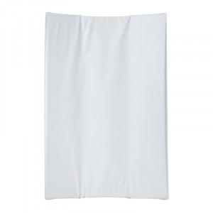 Saltea alba din PVC pentru masa de infasat 44x66 cm Basic Quax