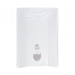Saltea alba din PVC pentru masa de infasat 50x70 cm Bobo Quax