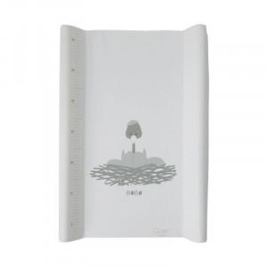 Saltea alba din PVC pentru masa de infasat 50x70 cm Bobo Ruler Quax