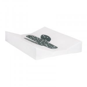 Saltea din PVC pentru masa de infasat 44x67 cm Cactus Quax