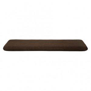 Saltea maro inchis din lana si viscoza 92x202 cm Kona Hallingdal Ferm Living