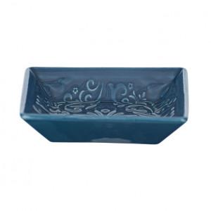 Savoniera albastra din ceramica 2,5x10,5 cm Cordoba Wenko
