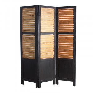 Separator camera negru/maro din lemn 110x170 cm Jahan Vical Home