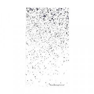 Set 16 servetele albe 40x40 cm Dots Bloomingville