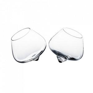 Set 2 pahare transparente din sticla Liqueur Normann Copenhagen