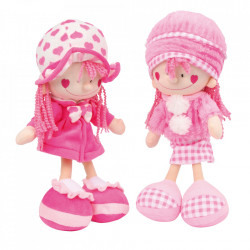 Set 2 papusi din poliester Nora & Emily Small Foot