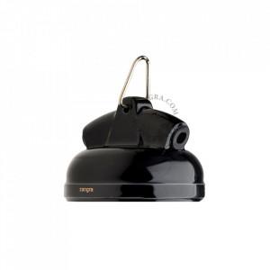 Soclu negru din metal si portelan E27 Arina Zangra