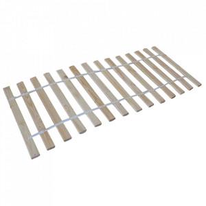 Somiera maro din lemn 90x200 cm Slatter Woood