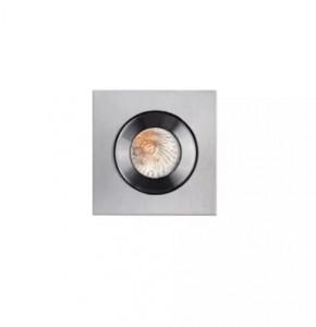 Spot argintiu din aluminiu Shower Oprawa Maxlight