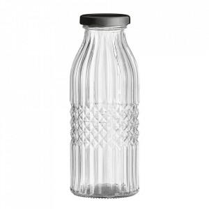 Sticla transparenta cu capac 420 ml Liah Bloomingville