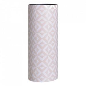 Suport alb/bej din lemn si PVC pentru umbrela 50 cm Mirad Ixia