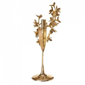 Suport auriu din alama pentru lumanare 42 cm Orchid Pols Potten