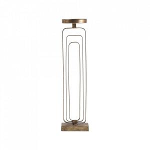Suport auriu din fier pentru lumanare 57 cm Sullivan Vical Home
