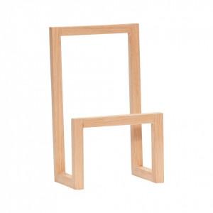 Suport din lemn pentru reviste Oak Magazine Hubsch