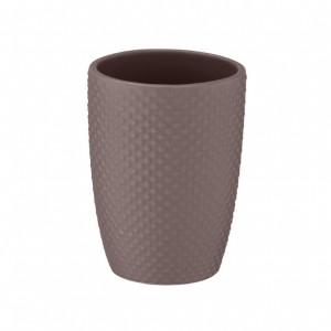 Suport grej din ceramica pentru periuta dinti 8x11 cm Punto Wenko