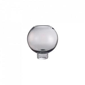 Suport gri din sticla 11,8 cm pentru lumanare Calice Tealight Bolia