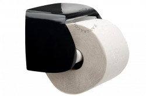 Suport hartie igienica negru din portelan Peter Zangra