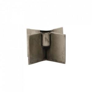 Suport lumanare maro din fier 3 cm Wing House Doctor