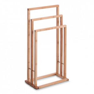 Suport maro din lemn de bambus pentru prosoape 81,5 cm Bamboo Zeller
