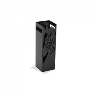 Suport negru din metal pentru umbrela 49 cm Zebra Black Versa Home