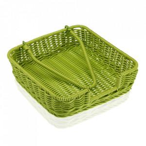 Suport servetele de bucatarie verde din polipropilena Marjan Versa Home