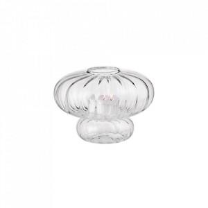 Suport transparent din sticla 10 cm pentru lumanare Miyabi Tealight Bolia