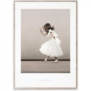 Tablou cu rama stejar Essence of Ballet 02 Paper Collective