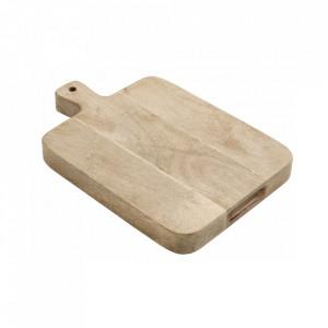 Tocator dreptunghiular maro din lemn 30x46 cm Hellen Nordal